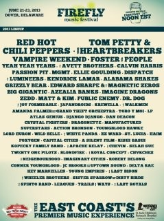 Firefly Music Festival 2013