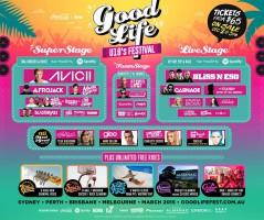 Good Life Sydney 2015 lineup