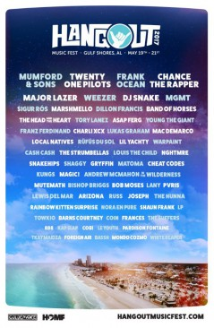 Hangout Festival 2017 lineup