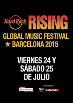 Hard Rock Rising Barcelona 2015