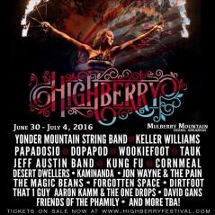 Highberry Music Festival 2016