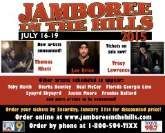 Jamboree in the Hills 2015 lineup