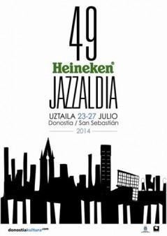 Cartel Heineken Jazzaldia 2014