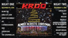 KROQ's Almost Acoustic Christmas 2016