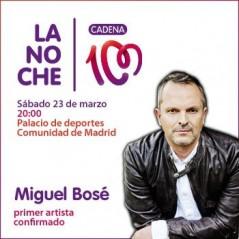 Cartel La noche de CADENA 100 2013