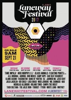 Laneway Festival Perth 2017 lineup