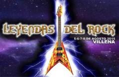 Leyendas del Rock Festival 2015