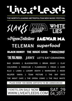 Live at Leeds 2017 lineup