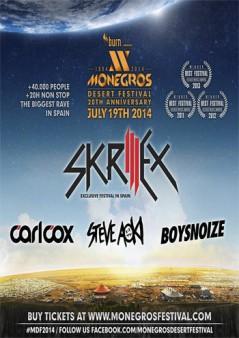 Cartel Monegros Desert Festival 2014