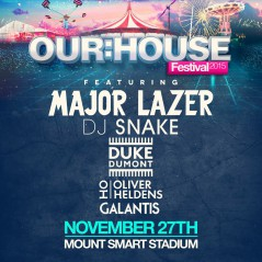 Our House Festival 2015 lineup