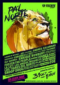 Pa'l Norte Rock Festival 2014