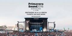 Cartel Primavera Sound 2016