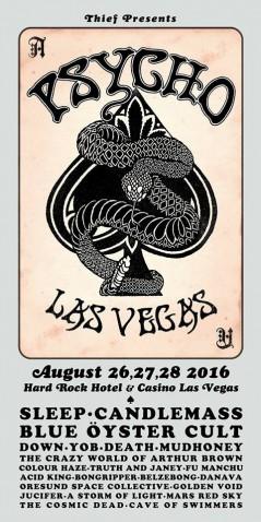 Psycho Las Vegas 2016