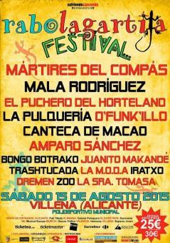 Rabolagartija Festival 2015