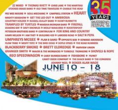 Riverbend Festival 2016 lineup