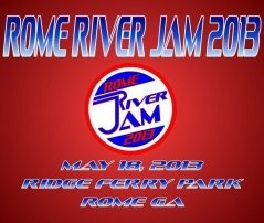 Rome River Jam 2013 lineup