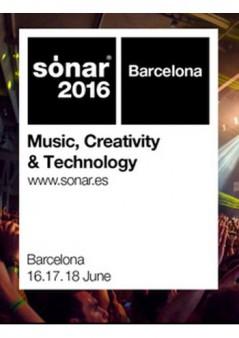 Cartel Sónar Barcelona 2016