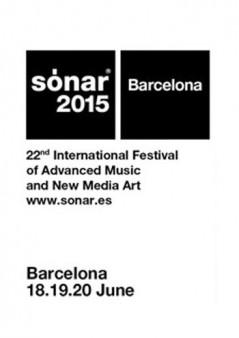 Cartel Sónar Barcelona 2015