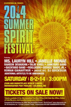 Summer Spirit Festival Columbia 2014