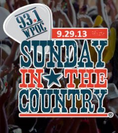 Sunday in the Country 2013 lineup