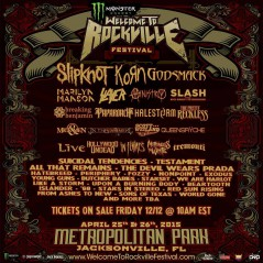 Welcome to Rockville 2015 lineup