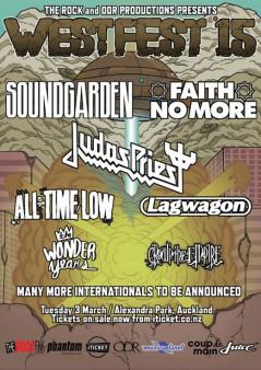 Westfest Auckland 2015 lineup