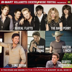 Willamette Country Music Festival 2015
