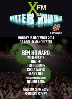Xfm Winter Wonderland Manchester 2014