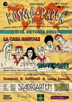 Kosmo-Parea Festival 2009Line up